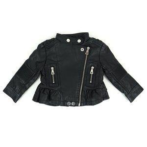 URBAN REPUBLIC faux leather jacket, girl's size18M